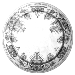 Plate by Christopher Dresser http://en.wikipedia.org/wiki/The_Owl_Service