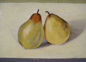 pearsoil on canvas 2011