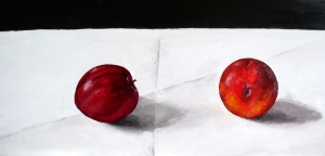 plum landscapeoil on board 2007